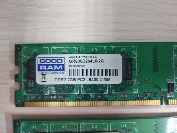 ОЗУ Goodram GR800D264L6/2G -2шт.