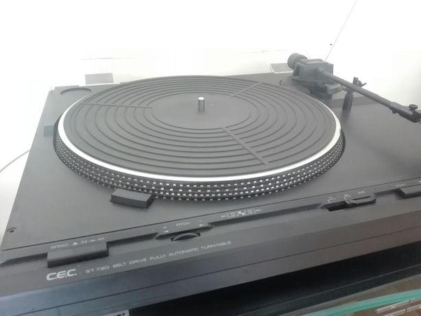 cec st 730 c.e.c Chuo Denki gramofon z igla i wkladka Sansui