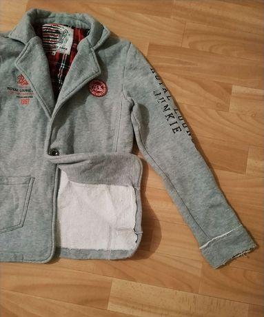 Теплая кофта свитер пиджак для подростка мальчика