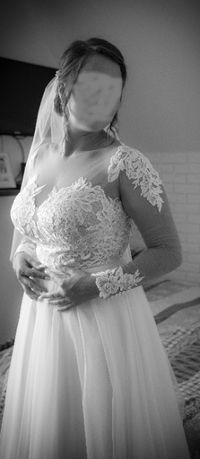 Suknia ślubna Kształt litery A