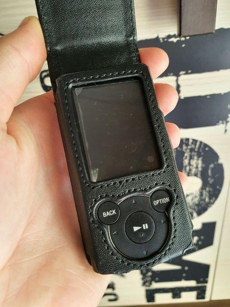Sony Walkman NWZ-E444 Odtwarzacz MP4 Czytaj Opis Skórzane Etui