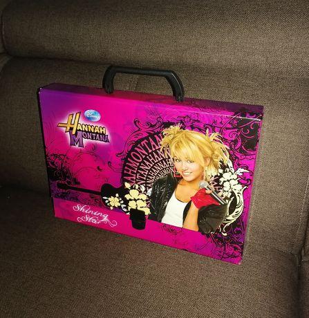 Hannah Montana Teczka z uchem kartonowa A4
