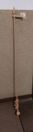 Karnisze drewniane 160cm i 240cm