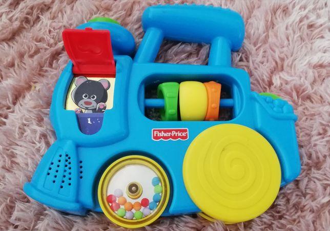 Lokomotywa Fisher Price zabawka edukacyjna dla dziecka