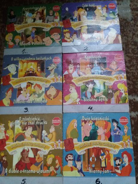 Płytki VCD, DVD Baśnie Braci Grimm
