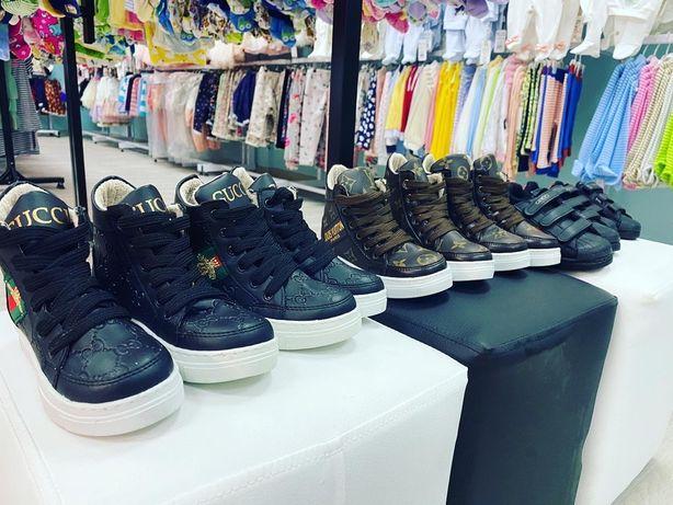 Ботинки бренд GUCCI, LOUIS VUITTON со скидкой