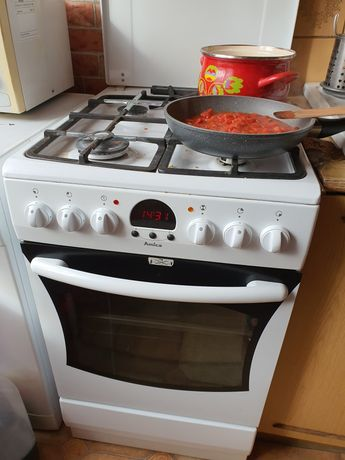 Amica Kuchnia gazowa z piekarnikiem elektrycznym