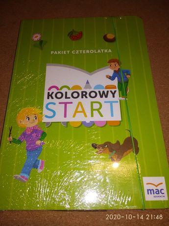 Kolorowy Start Czterolatek Box Nowy Folia Wydawnictwo Mac