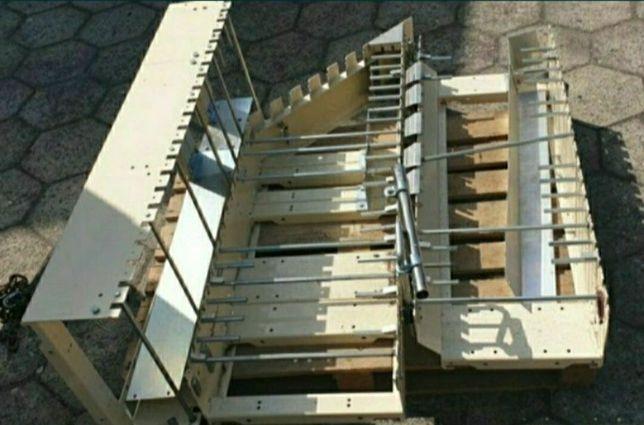 Przenośnik rolkowy, podajnik rolkowy, transporter, 16 metrów 150 rolek