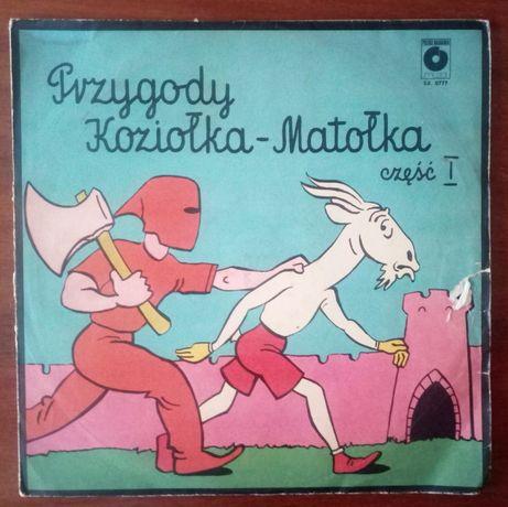 Sprzedam winyl Przygody Koziołka - Matołka cz.1