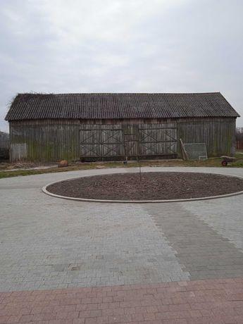 Sprzedam stodołę deski, krokwie, belki i słupy ze stodoły całość