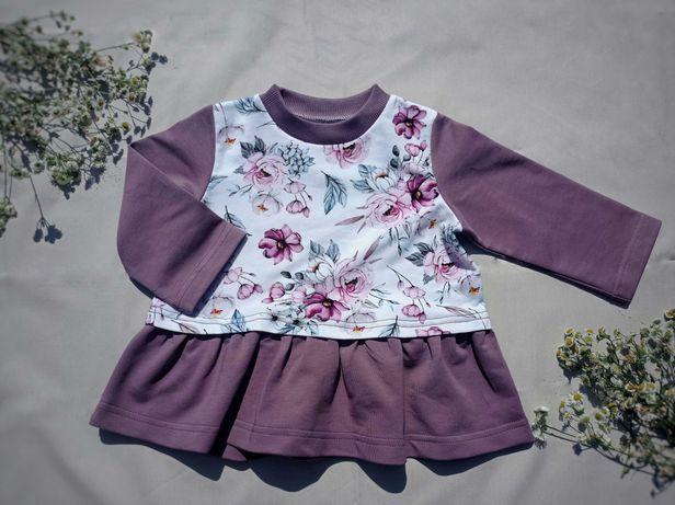 Платье  детское 74 розмер кофта туника для ребёнка сукня дитяча