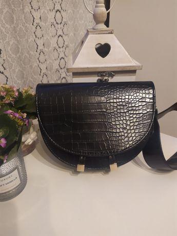 Nowa torebka - skóra PU wzór krokodyla