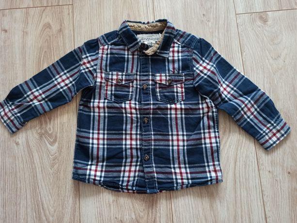 H&M koszula na długi rękaw, rozmiar 80