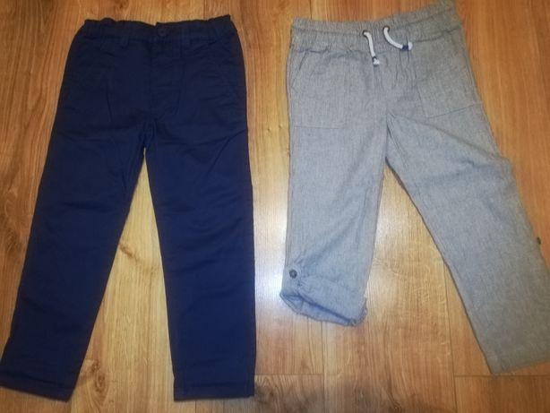 Spodnie Reserved H&M r. 110