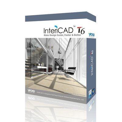 InteriCAD T6 Professional program projektowanie wnętrz 3D AutoCAD 2D