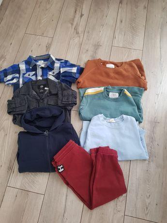 Dresy sweter bluza dla chłopca Zara Reserved 116 spodnie kardigan