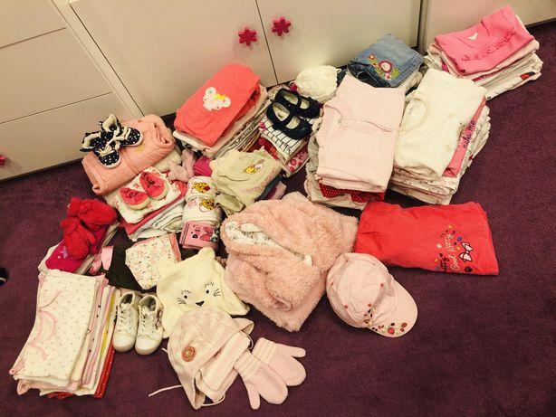 Ubrania ubranka dla dziewczynki wiosna/lato 68-90 (6-18miesięcy)