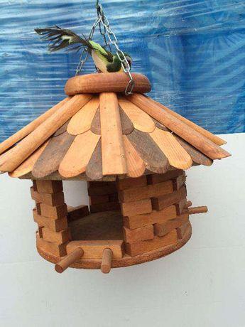 Karmnik dla ptaków okrągły, karmniki + kule tłuszczowe gratis