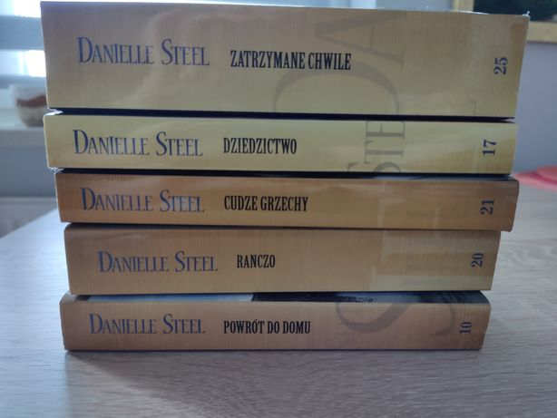 Literatura kobieca Danielle Steel 5 książek