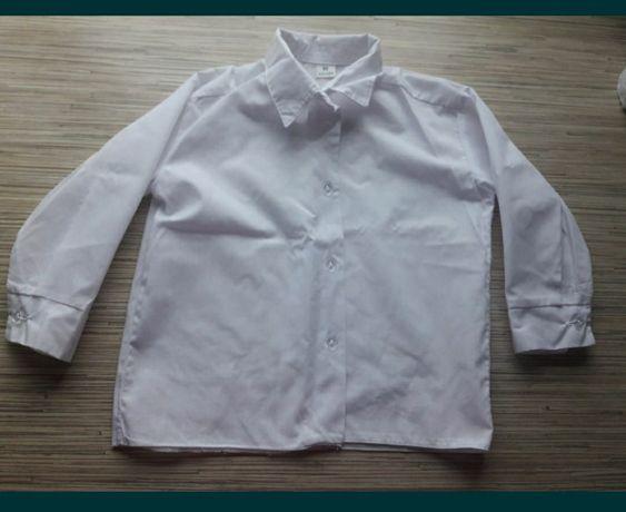 Biała koszula 86 chłopięca
