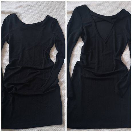Czarna sukienka Reserved 34