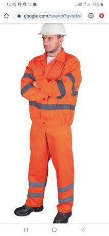 Ubranie robocze ostrzegawcze