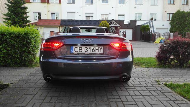 AUDI A5 Quattro Cabrio 240 KM 3.0 TDI, LED, Skóry, Automat, FULL OPCJA