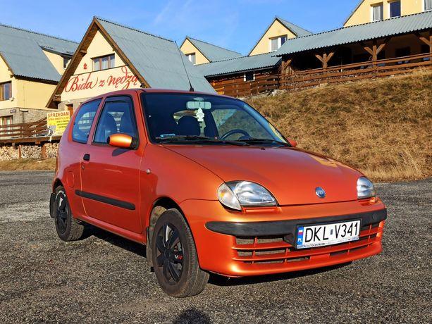Fiat Seicento SX, Zadbany, dwa komplety kół,