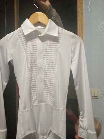 Рубашка танцювальна 140 р
