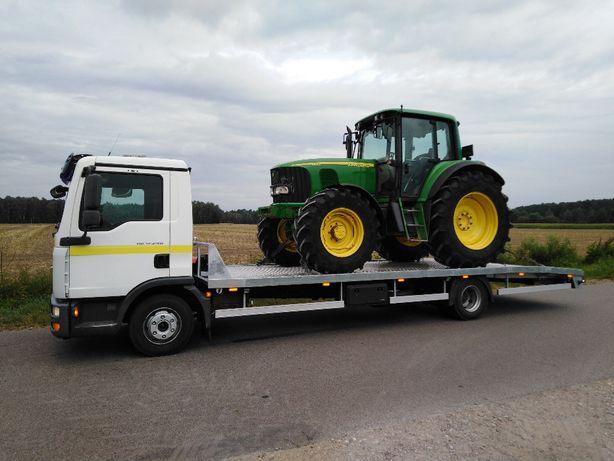Pomoc drogowa Transport ciagników maszyn rolniczych busy itp.