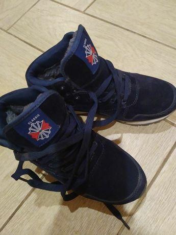 Зимні замшеві кросівки