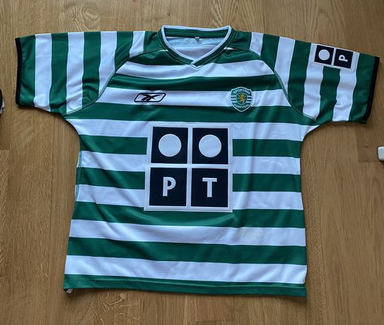 Camisola Sporting OFICIAL 2003/2004