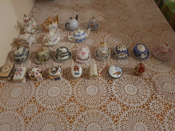 Mini kolekcja porcelanowa
