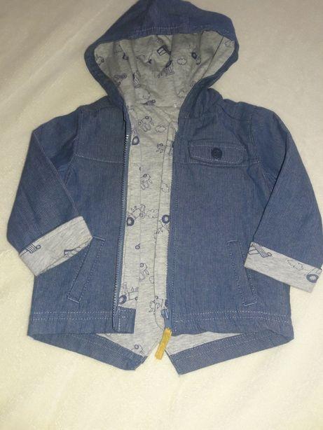 Джинсовая куртка фирмы mothercare