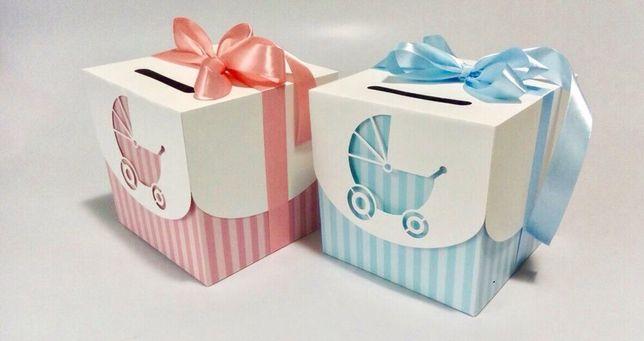 Коробочки для конкурса мальчик или девочка