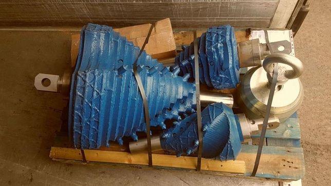 Rozwiertaki baryłkowe do wiertnic sterowanych z krętlkiem HDD