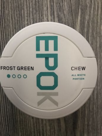Pudelka po snus Epok Frost Green #1