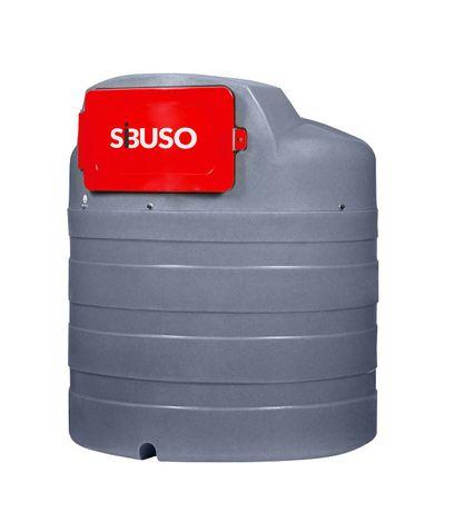 Nowość; Zbiornik do paliwa dwupłaszczowy SIBUSO 2500L, Promocja !!