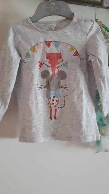 Bluzeczka dla dziewczynki H&M 80-86