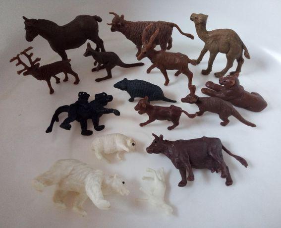Zwierzęta PRL - figurki