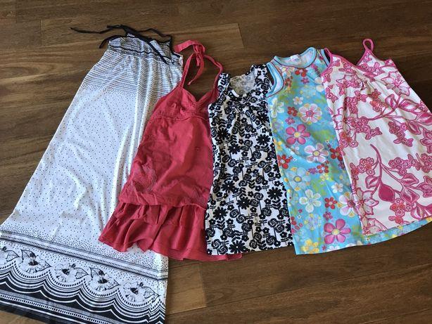 Sukienki na lato H&M George Zara 128-152