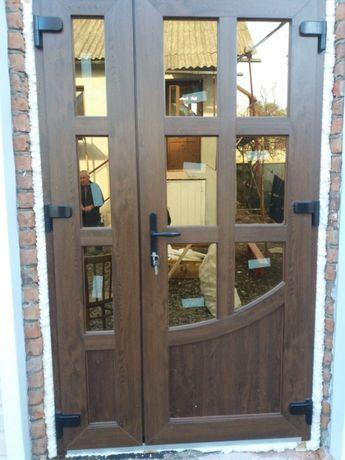 Двері вхідні металопластикові ТЕПЛІ