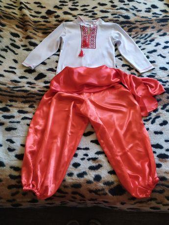 Продам костюм Козака (вышиванка+шаровары)на 4-6 лет