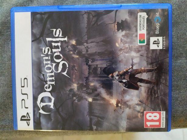 Demon's Souls PS5 - Como novo