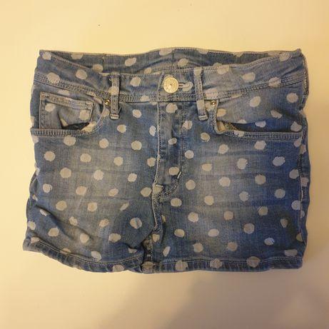 Krótkie spodenki H&M dla dziewczynki