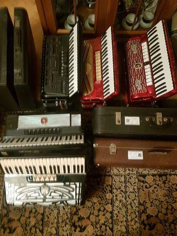 części akcesoria do akordeonów i harmonii