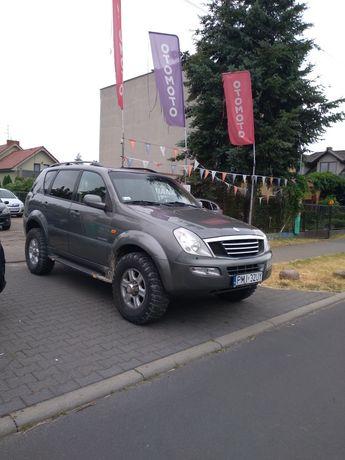 Rexston SsangYong rej.2004r 3,0 diesel Mercedesa,4x4,Klimą sprawna