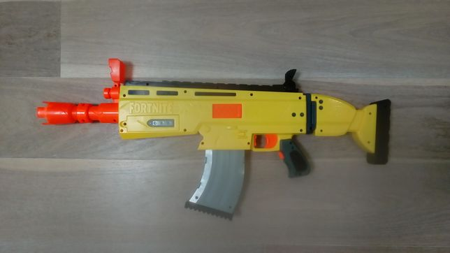Игрушечное оружие NERF/Оружие NERF FORTNITE YELLOW/