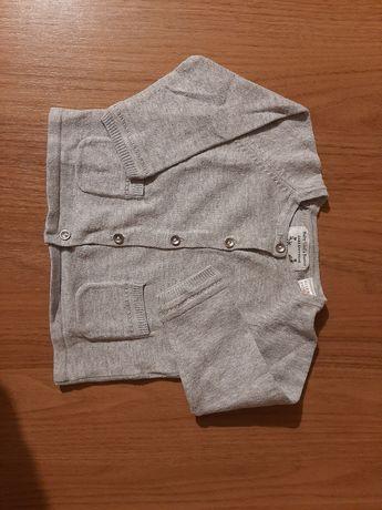 Casaco de malha cinzento 3 - 6 meses Zara baby